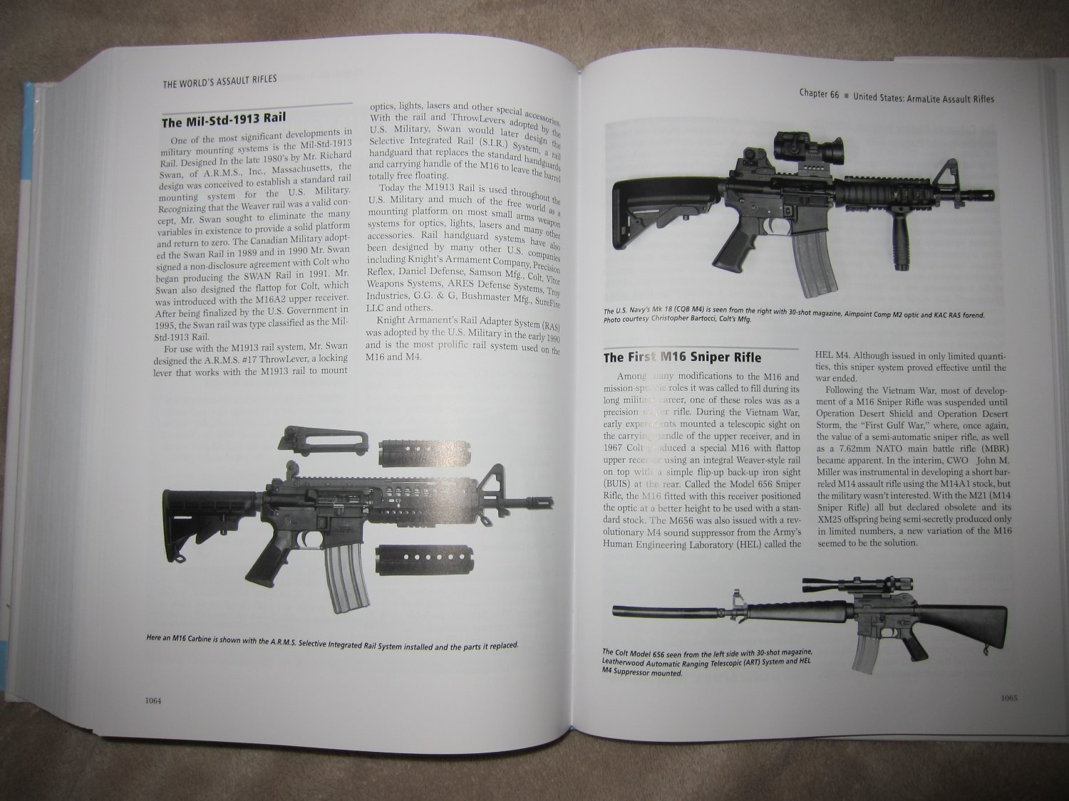 Assault Rifles of the World Book Gary Paul Johnston 2 <!  :en  >The Worlds Assault Rifles: Best and Most Complete Book on Military Infantry Assault Rifles (and Battle Rifles) Ever Written?  DefenseReview (DR) Highly Recommends It!<!  :  >