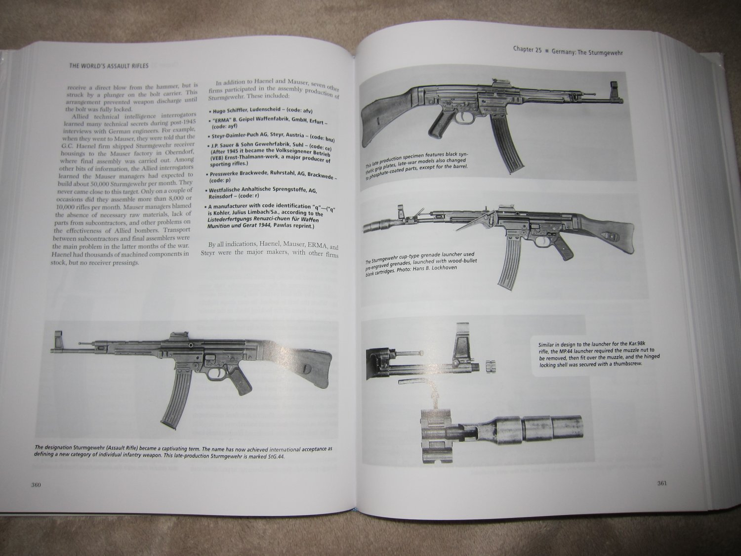 Assault Rifles of the World Book Gary Paul Johnston 3 <!  :en  >The Worlds Assault Rifles: Best and Most Complete Book on Military Infantry Assault Rifles (and Battle Rifles) Ever Written?  DefenseReview (DR) Highly Recommends It!<!  :  >