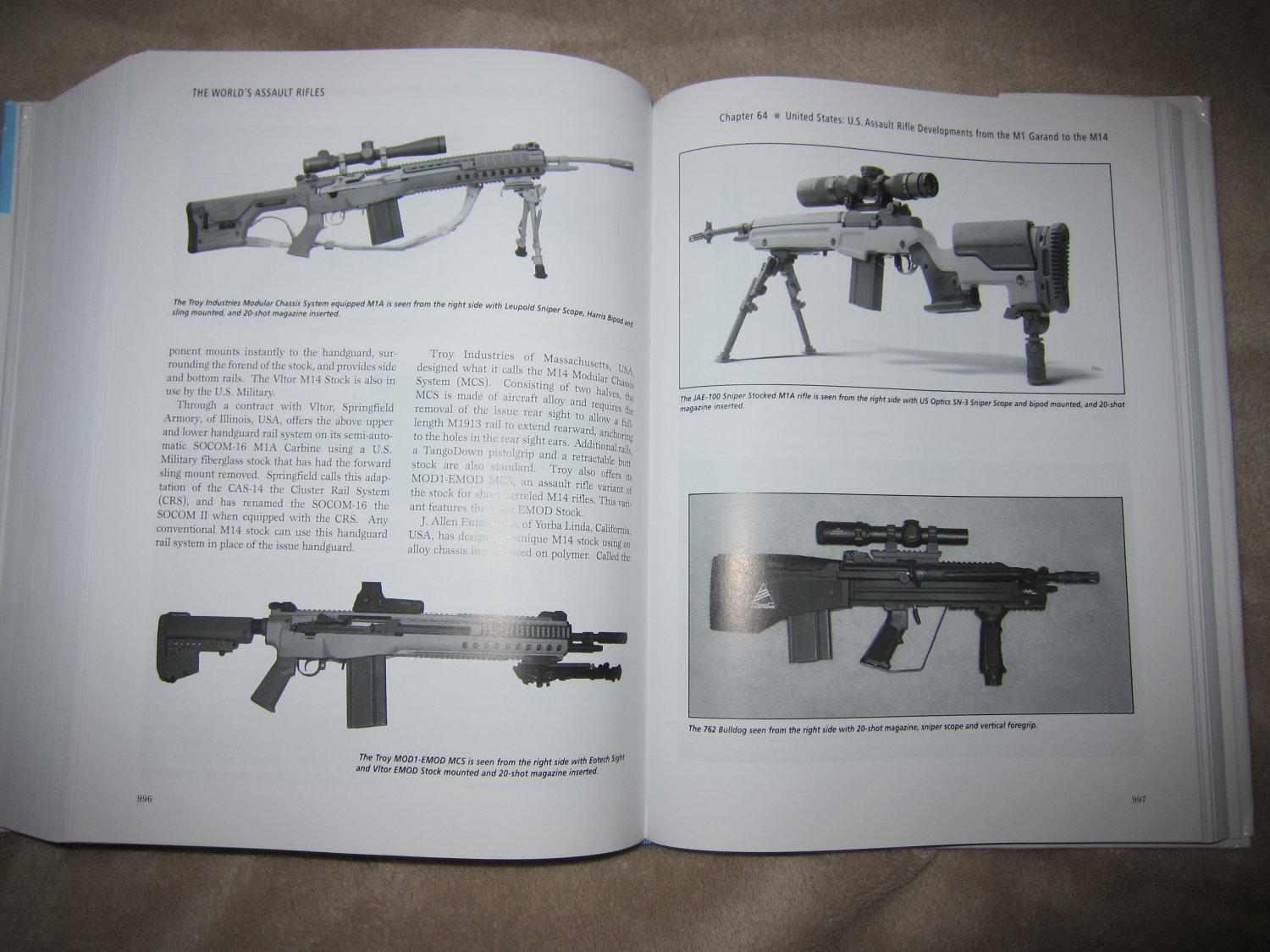 Assault Rifles of the World Book Gary Paul Johnston 5 <!  :en  >The Worlds Assault Rifles: Best and Most Complete Book on Military Infantry Assault Rifles (and Battle Rifles) Ever Written?  DefenseReview (DR) Highly Recommends It!<!  :  >
