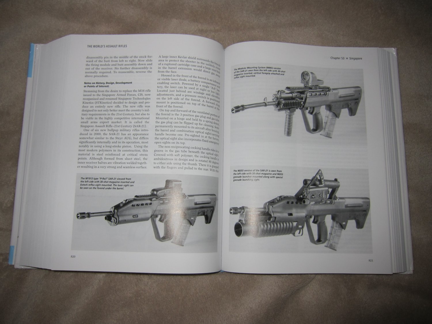 Assault Rifles of the World Book Gary Paul Johnston 7 <!  :en  >The Worlds Assault Rifles: Best and Most Complete Book on Military Infantry Assault Rifles (and Battle Rifles) Ever Written?  DefenseReview (DR) Highly Recommends It!<!  :  >
