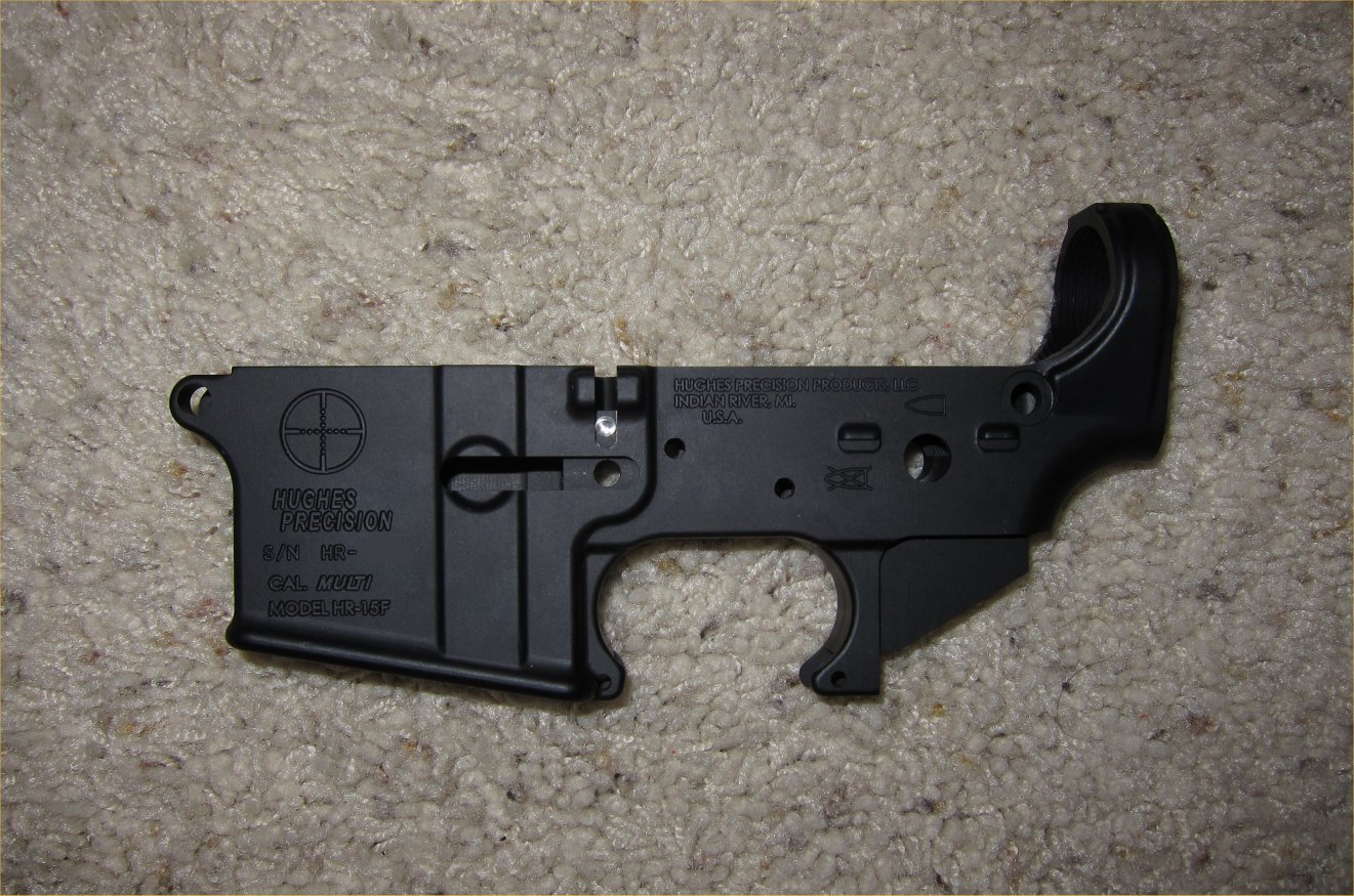 Hughes Precision HR 15F Forged AR Lower Receiver 5 <!  :en  >Hughes Precision Products (HPP) Forged and Billet AR (AR 15/M16) Lower Receivers for Tactical AR Rifle/Carbine/SBR Builds <!  :  >
