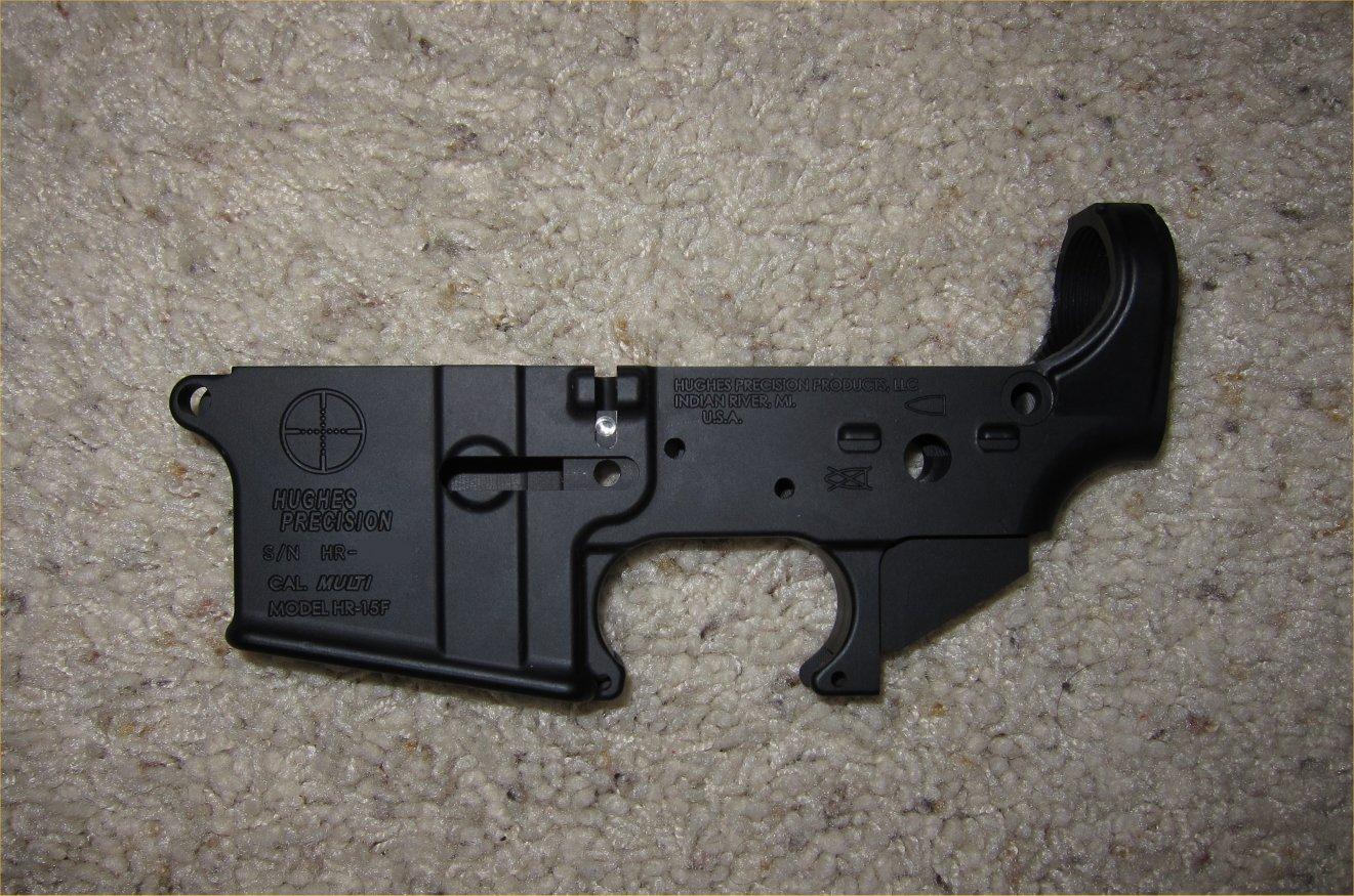 Hughes Precision HR 15F Forged AR Lower Receiver 5 <!  :en  >Hughes Precision Products (HPP) Forged and Billet AR (AR 15/M16) Lower Receivers for Tactical AR Rifle/Carbine/SBR Builds <!  :  >