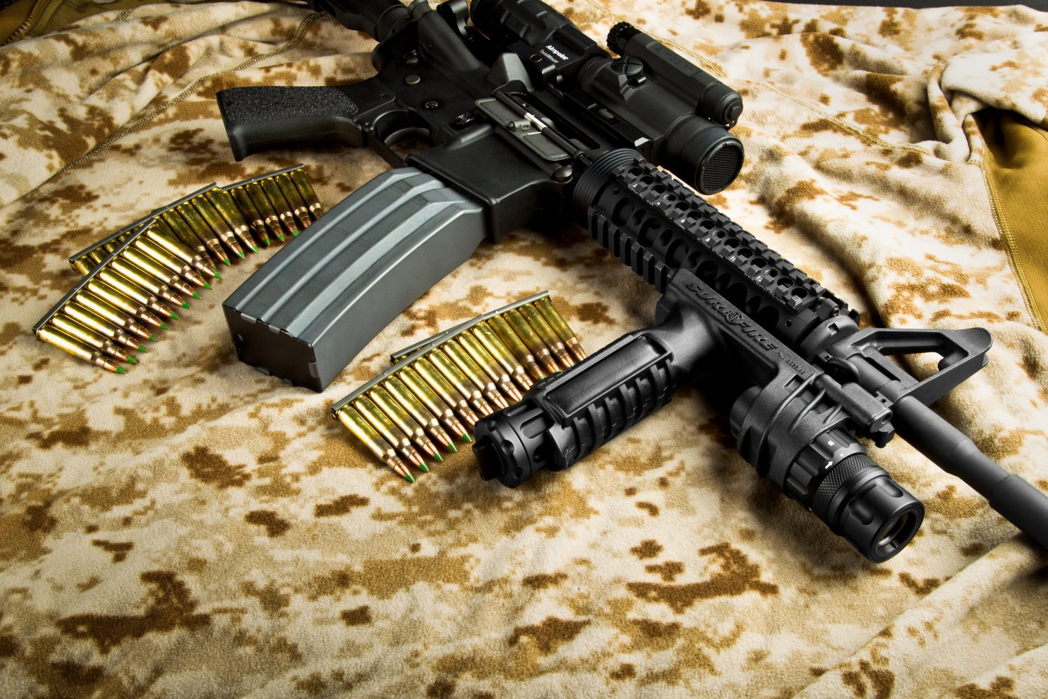 "DR Exclusive!: SureFire MAG5-60 and MAG5-100 High Capacity Magazine (HCM) ""Quad-Stack"" AR Rifle Magazines: 60-Round/Shot and 100-Round/Shot AR (AR-15/M16) 5.56mm NATO Box Magazines for Significantly-Increased Firepower during Infantry Combat and Tactical Engagements of All Sorts"