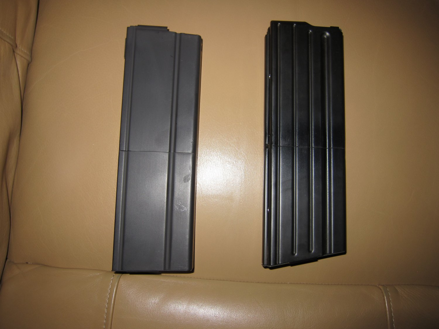 Higher Capacity 32 Round SR 25 and M14 M1A 7.62mm Rifle Magazines 2 <!  :en  >Higher Capacity 55 Round 5.56mm NATO and 32 Round 7.62mm NATO Rifle Magazines for Tactical AR (AR 15 and SR 25 type) and M14/M1A Rifles/Carbines/SBRs  (Photos and Video!) <!  :  >