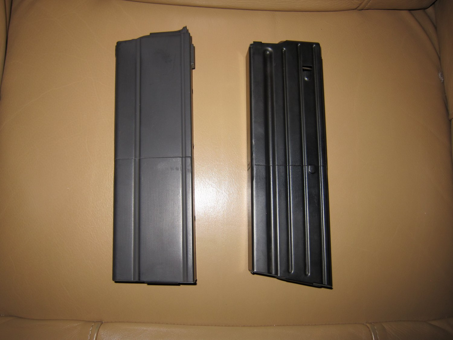 Higher Capacity 32 Round SR 25 and M14 M1A 7.62mm Rifle Magazines 3 <!  :en  >Higher Capacity 55 Round 5.56mm NATO and 32 Round 7.62mm NATO Rifle Magazines for Tactical AR (AR 15 and SR 25 type) and M14/M1A Rifles/Carbines/SBRs  (Photos and Video!) <!  :  >
