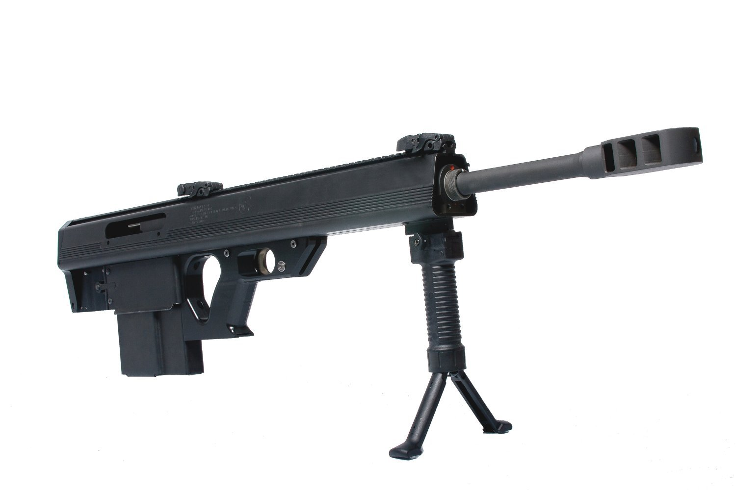 Leader 50 BMG Semi Auto Bullpup .50 BMG Anti Materiel Sniper Rifle Glamour Shot 1 <!  :en  >Leader 50 BMG Revolutionary Ultra Compact and Lightweight Semi Auto Bullpup .50 BMG (12.7x99mm NATO) Anti Materiel/Sniper Rifle for Military Special Operations Forces (SOF) and Civilian Tactical Shooters: Coming Soon to a Theater of Operations and Shooting Range Near You? <!  :  >