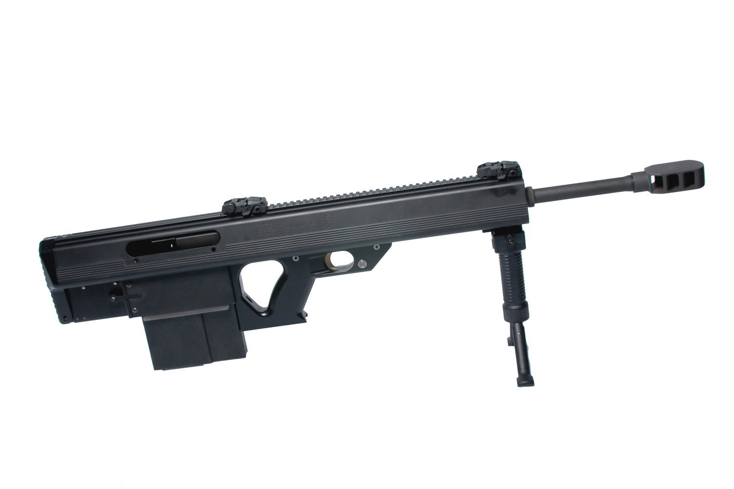 Leader 50 BMG Semi Auto Bullpup .50 BMG Anti Materiel Sniper Rifle Glamour Shot 2 <!  :en  >Leader 50 BMG Revolutionary Ultra Compact and Lightweight Semi Auto Bullpup .50 BMG (12.7x99mm NATO) Anti Materiel/Sniper Rifle for Military Special Operations Forces (SOF) and Civilian Tactical Shooters: Coming Soon to a Theater of Operations and Shooting Range Near You? <!  :  >