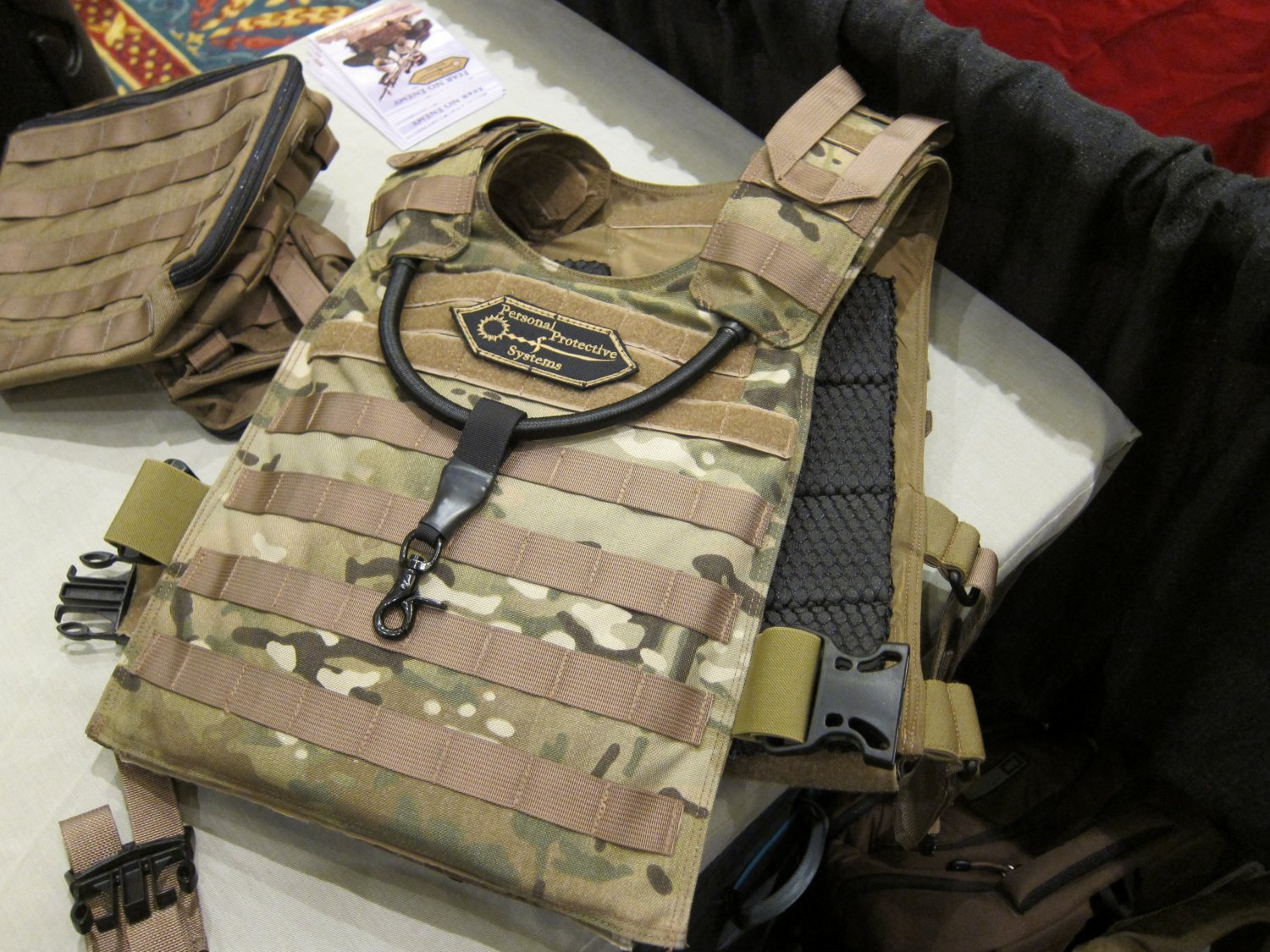 P2 Systems P2Sys Centurion Armour Hastati I Plate Carrier with Integra Sling at SHOT Show 2011 2 <!  :en  >Hardpoint Equipment Tactical Armor Carriers (formerly Personal Protective Systems, or P2 Systems): Best Tactical Body Armor Plate Carriers on the Planet? DR Looks at the Latest Hard Point Hard Armor Plate Carriers, Battle Belt, MOLLE Backpack System, and Passive Ventilation Channels/Removable Padding System at SHOT Show 2011 (Photos and Video!) <!  :  >
