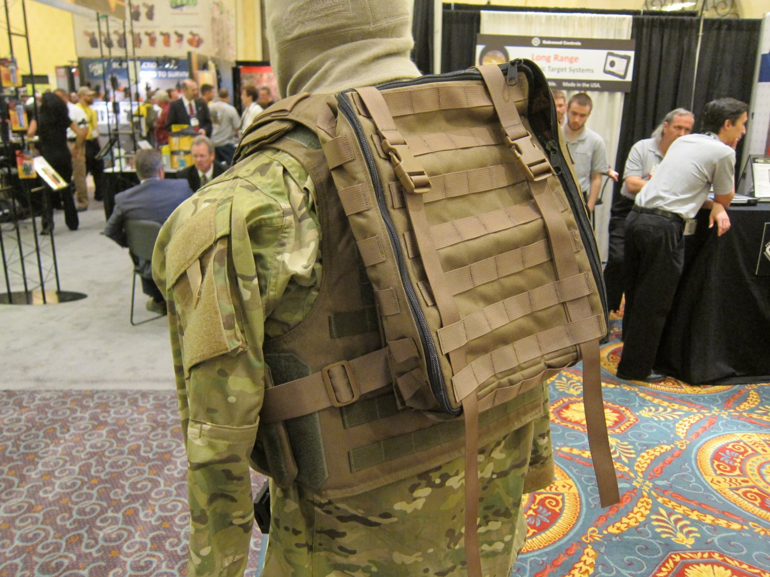 P2 Systems P2Sys Centurion Armour Maniple I Body Armor Carrier Tactical Vest with Integra Pack at SHOT Show 2011 2 <!  :en  >Hardpoint Equipment Tactical Armor Carriers (formerly Personal Protective Systems, or P2 Systems): Best Tactical Body Armor Plate Carriers on the Planet? DR Looks at the Latest Hard Point Hard Armor Plate Carriers, Battle Belt, MOLLE Backpack System, and Passive Ventilation Channels/Removable Padding System at SHOT Show 2011 (Photos and Video!) <!  :  >