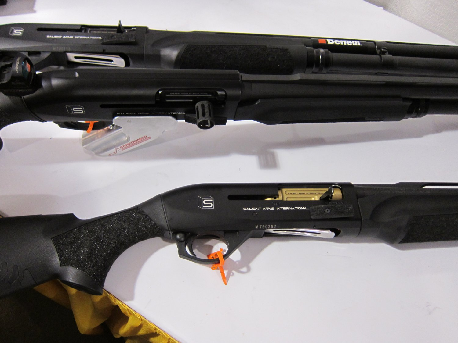 Benelli m2 tactical reviews - Salient Arms International Sai Custom Pistols Rifles And Shotguns For Competition And Carry Displayed At Shot Show 2011