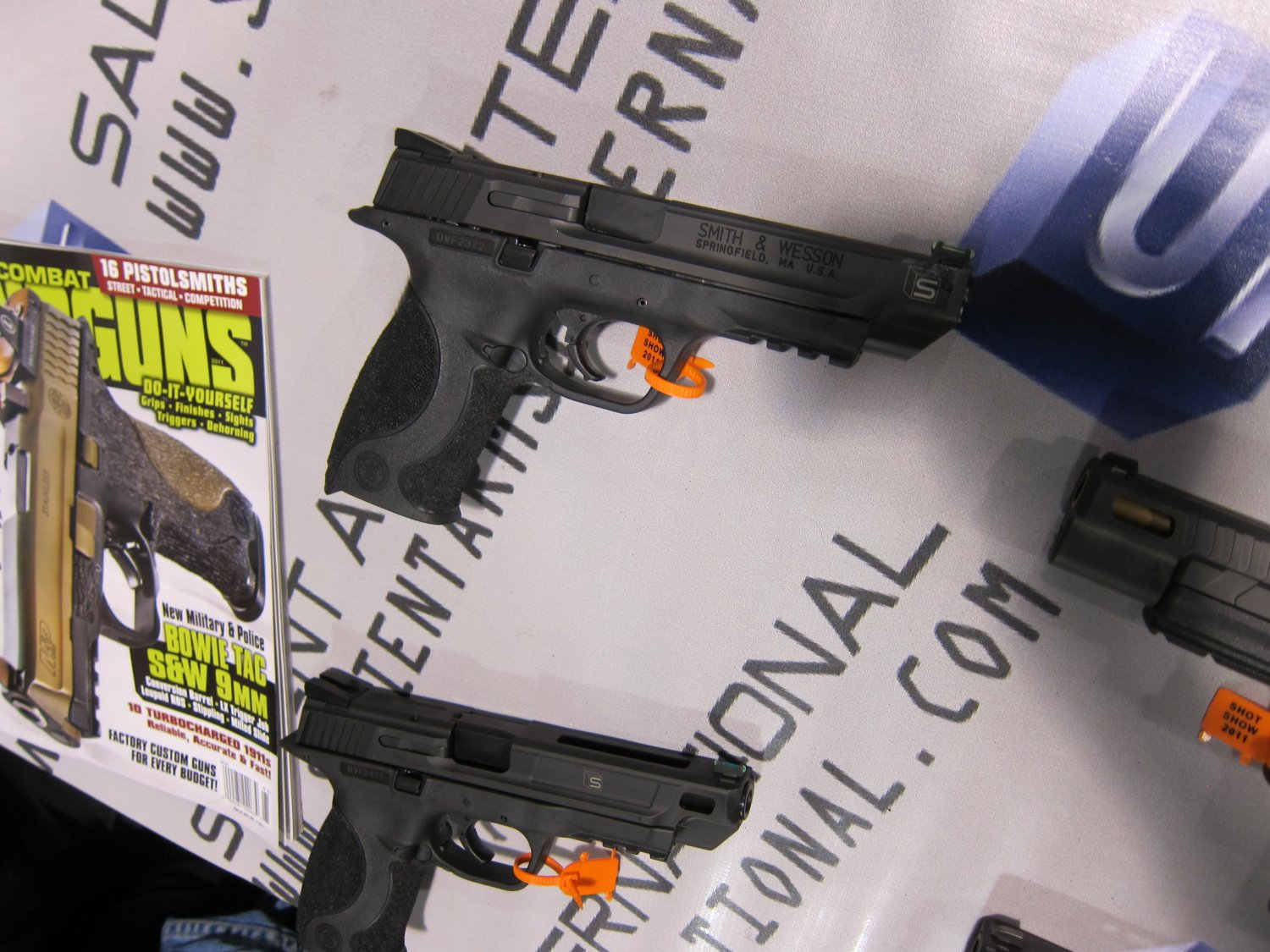 Salient Arms International Custom Smith  Wesson SW MP Pistols 4 <!  :en  >Salient Arms International (SAI) Custom Pistols, Rifles, and Shotguns for Competition and Carry Displayed at SHOT Show 2011 <!  :  >