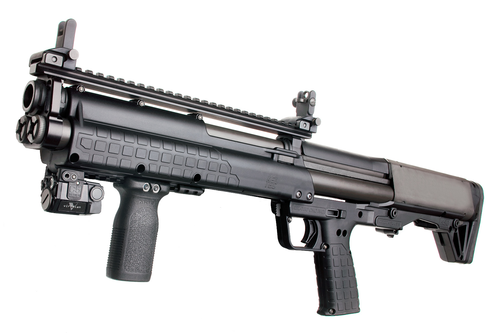 Kel Tec KSG Shotgun Oleg Volk 1 <!  :en  >Kel Tec KSG Shotgun: 15 Round (14+1) Bullpup Pump Action 12 Gauge Combat Shotgun for Urban Tactical Operations and Applications (Photos and Video!)<!  :  >