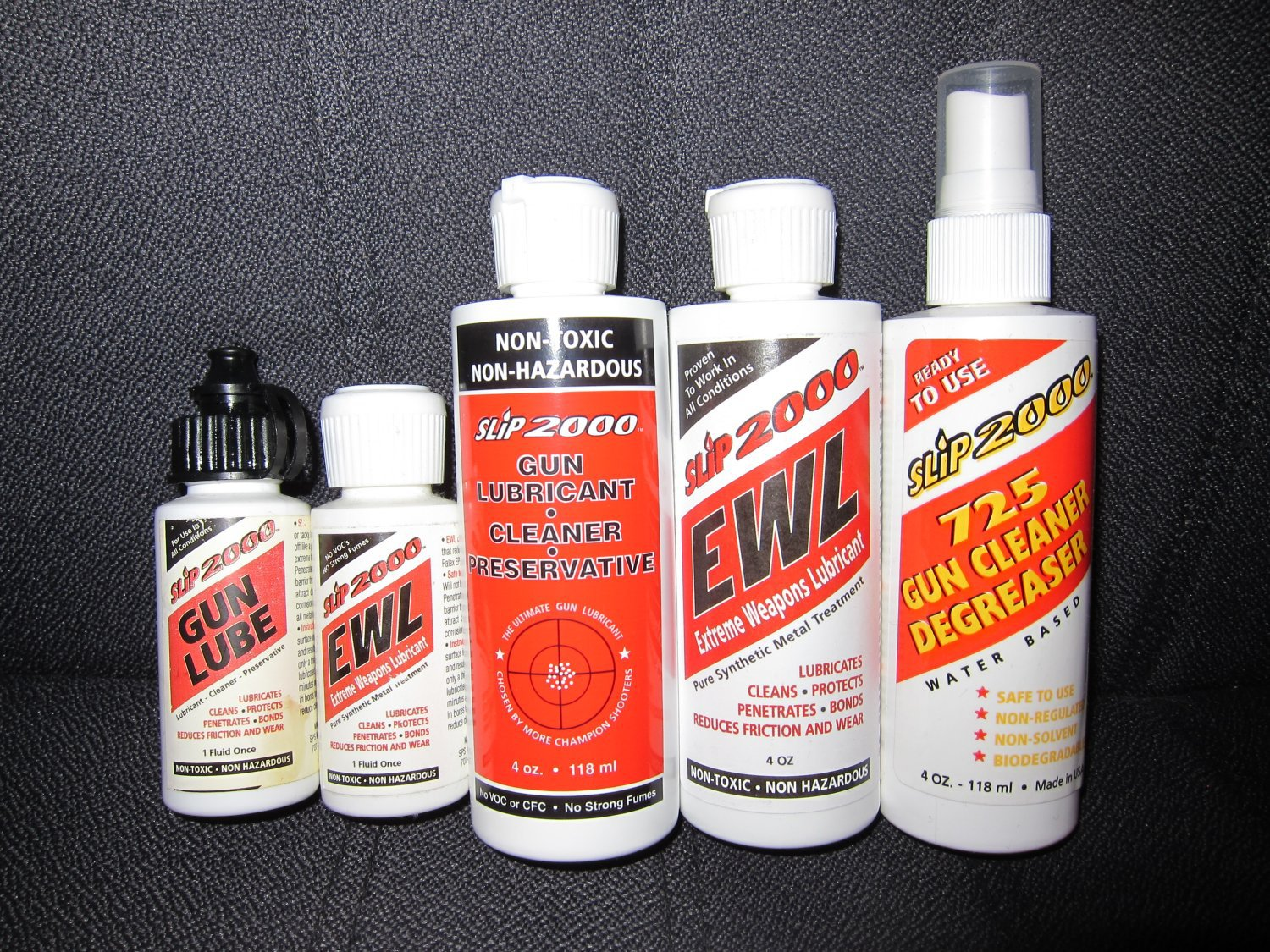 <!--:en-->SLiP2000 Gun Lube and Extreme Weapons Lubricant (EWL) Advanced, High-Performance Synthetic Lubricants for Semi-Auto and Full-Auto/Select-Fire Tactical Firearms and Infantry Small Arms (Machine Guns!)<!--:-->