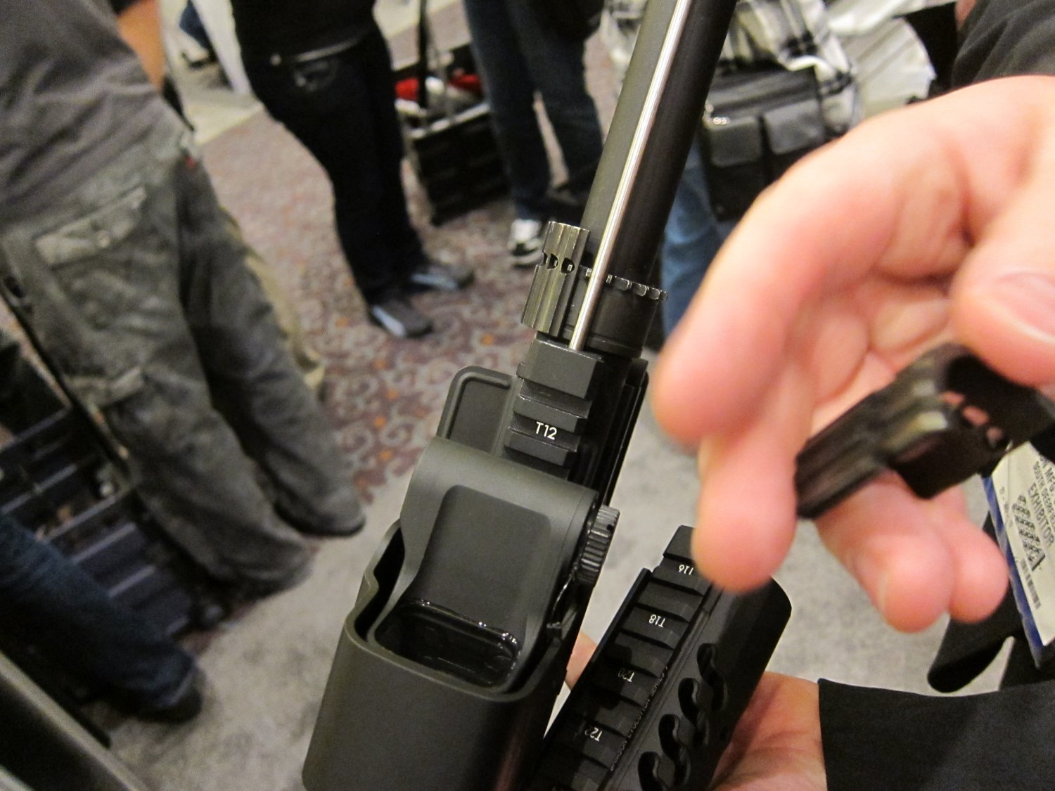 "Samson Evolution Series Rail System SHOT SHOW 2011 4 <!  :en  >Samson Evolution Series Rail System Outfitted Adams Arms 7.5"" PDW Piston AR SBR for Dynamic Close Quarters Battle (CQB) and Tactical Training: DARC Ready!<!  :  >"