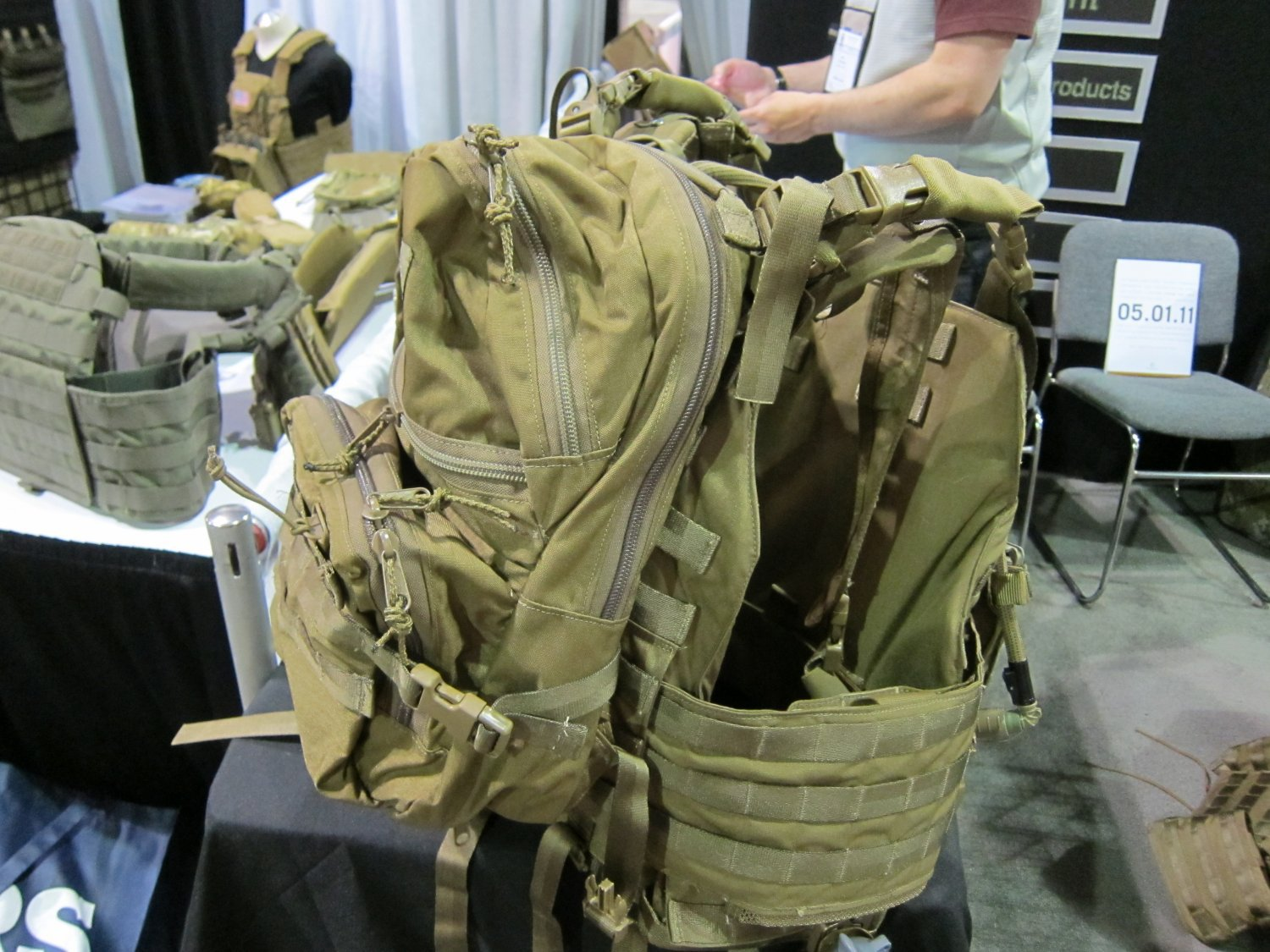 Archangel Armor Internal Frame Load Bearing System IFLBS Version 5 Tactical Armor Plate Carrier System SOFIC 2011 11 <!  :en  >Archangel Armor Internal Frame Load Bearing System (IFLBS) Version 5 Tactical Armor Plate Carrier/Tactical Vest System: Lighten your load when youre in combat mode!<!  :  >