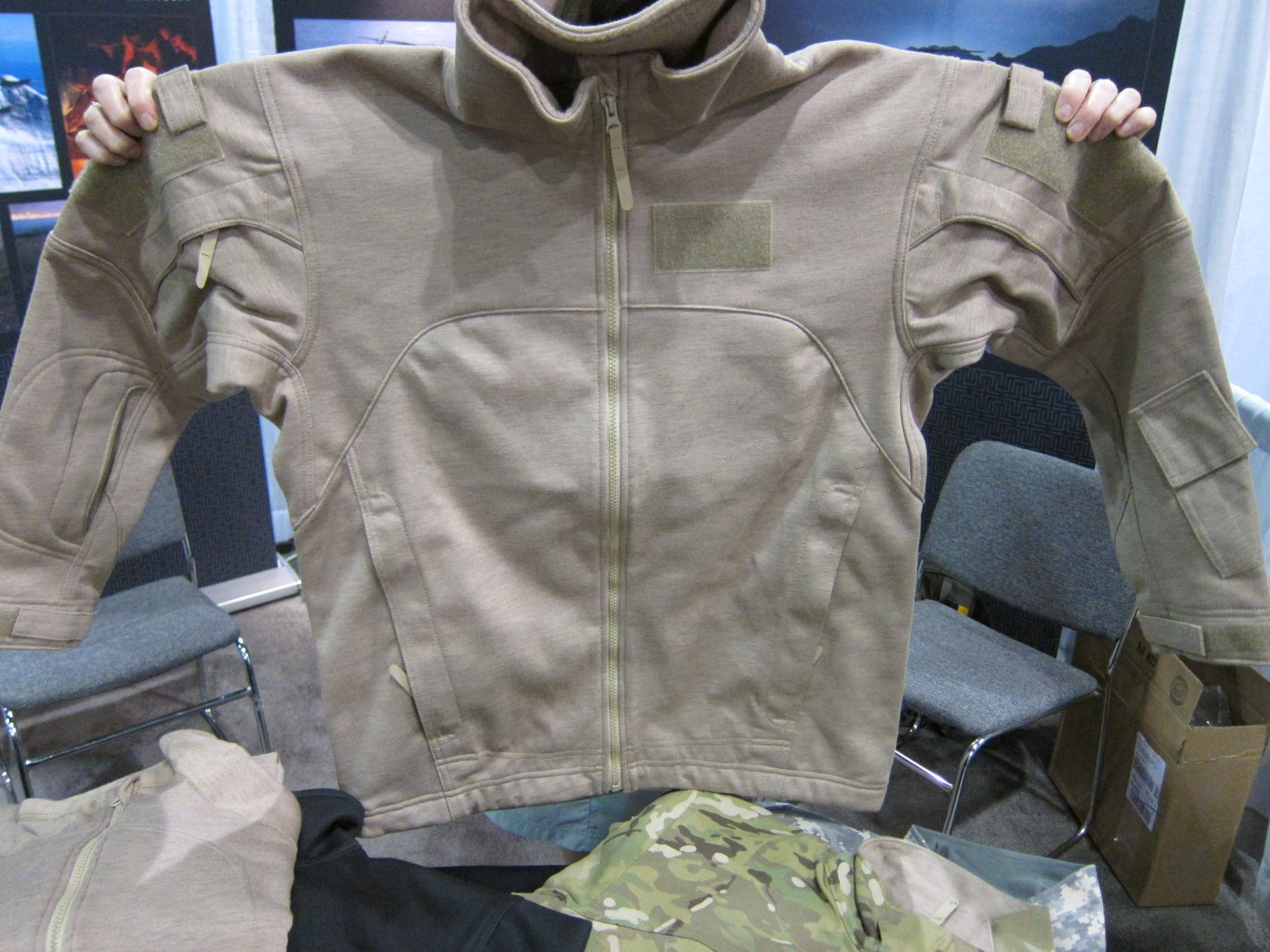 Massif Mountain Gear Flame Resistant FR Tactical Combat Clothing SOFIC 2011 11 <!  :en  >Massif Mountain Gear Flame Resistant (FR) Combat Clothing in Crye MultiCam Camouflage Pattern: High End Military Grade Tactical Jackets, Combat Shirts, and Tactical Pants for Military Special Operations Forces (SOF) and Civilian Tactical Shooters<!  :  >