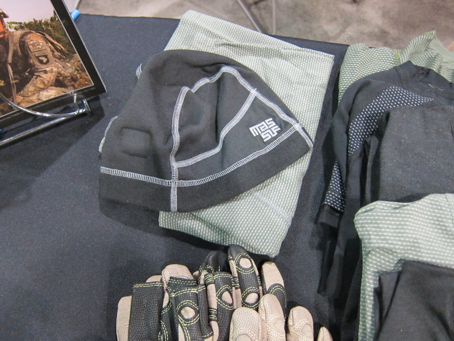 Massif Mountain Gear Flame Resistant FR Tactical Combat Clothing SOFIC 2011 3 <!  :en  >Massif Mountain Gear Flame Resistant (FR) Combat Clothing in Crye MultiCam Camouflage Pattern: High End Military Grade Tactical Jackets, Combat Shirts, and Tactical Pants for Military Special Operations Forces (SOF) and Civilian Tactical Shooters<!  :  >