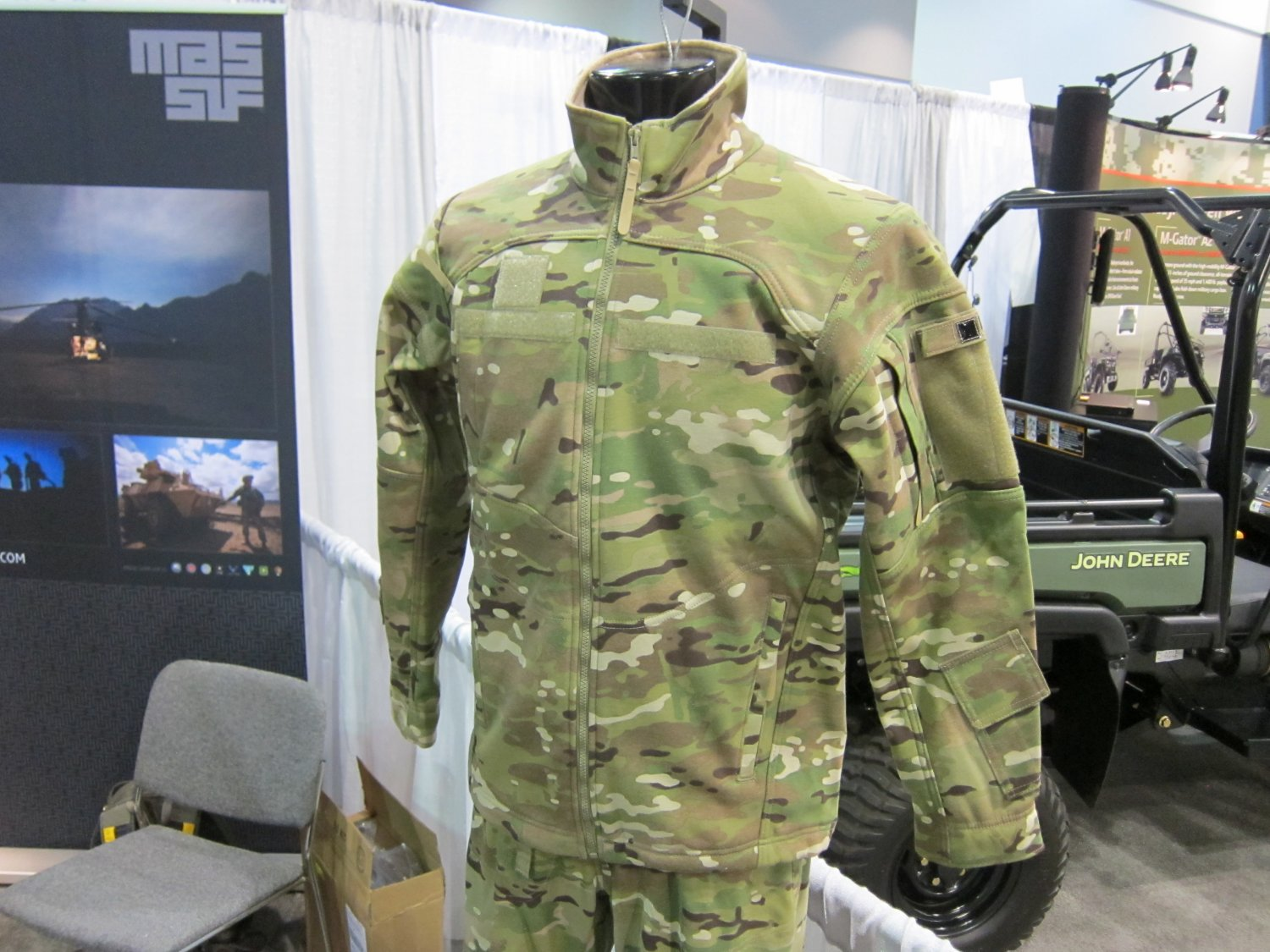 Massif Mountain Gear Flame Resistant FR Tactical Combat Clothing SOFIC 2011 5 <!  :en  >Massif Mountain Gear Flame Resistant (FR) Combat Clothing in Crye MultiCam Camouflage Pattern: High End Military Grade Tactical Jackets, Combat Shirts, and Tactical Pants for Military Special Operations Forces (SOF) and Civilian Tactical Shooters<!  :  >
