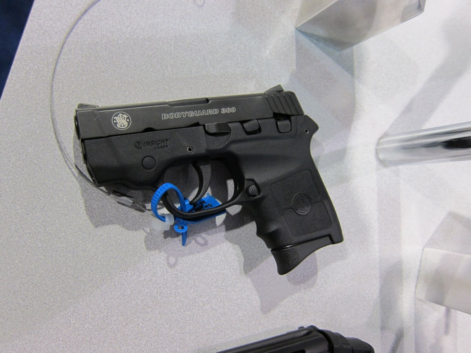 SHOT Show 2010 Smith  Wesson Bodyguard .38 Special Revolver and .380 Pistol 4 Smith & Wesson (S&W) Bodyguard 380 Lightweight Sub Compact .380 ACP Pistol with L3 Insight Technology Laser Sight for Civilian Concealed Carry (CCW) and Law Enforcement Officer (LEO) Back Up Use