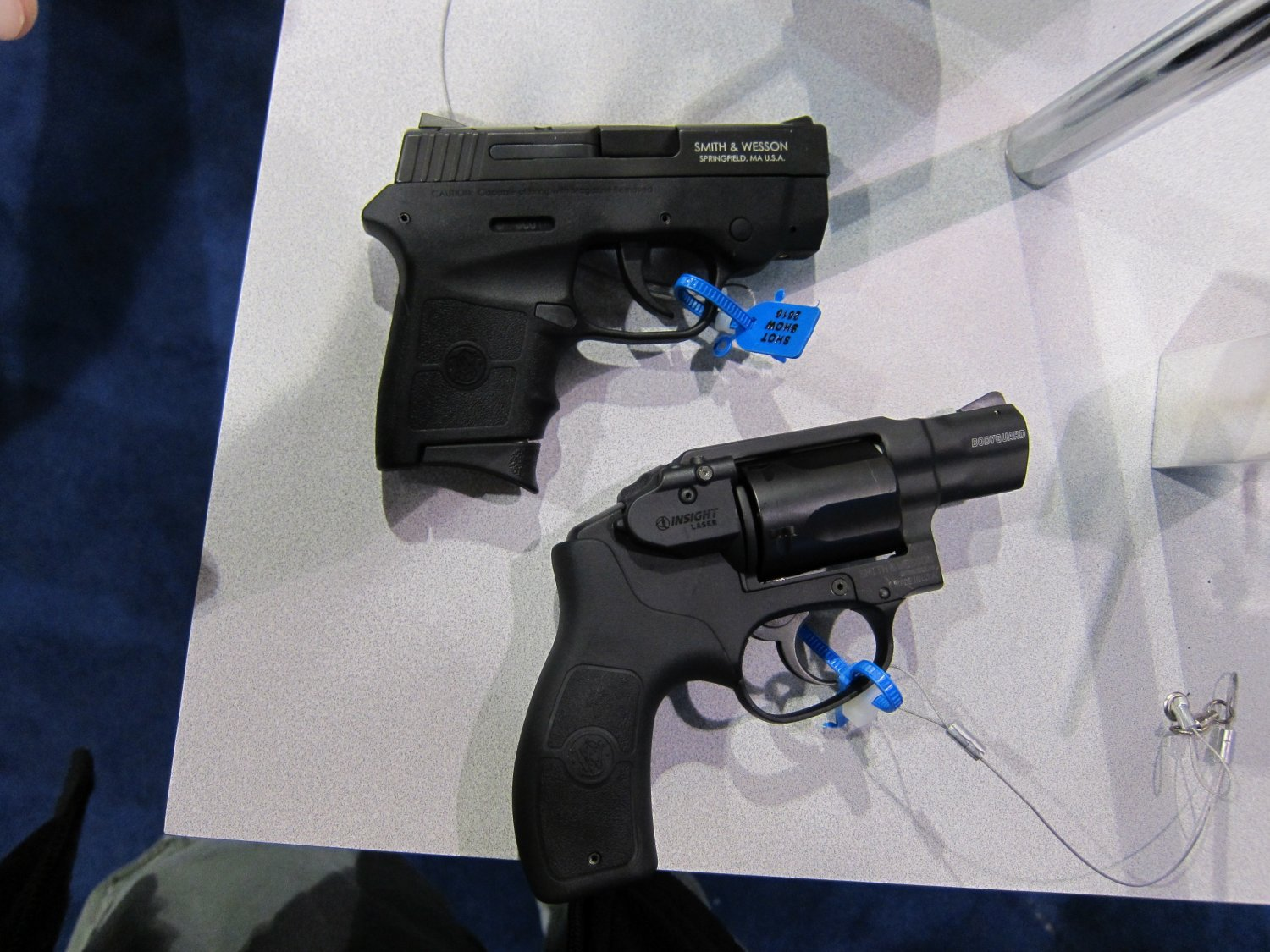 SHOT Show 2010 Smith  Wesson Bodyguard .38 Special Revolver and .380 Pistol 5 Smith & Wesson (S&W) Bodyguard 380 Lightweight Sub Compact .380 ACP Pistol with L3 Insight Technology Laser Sight for Civilian Concealed Carry (CCW) and Law Enforcement Officer (LEO) Back Up Use