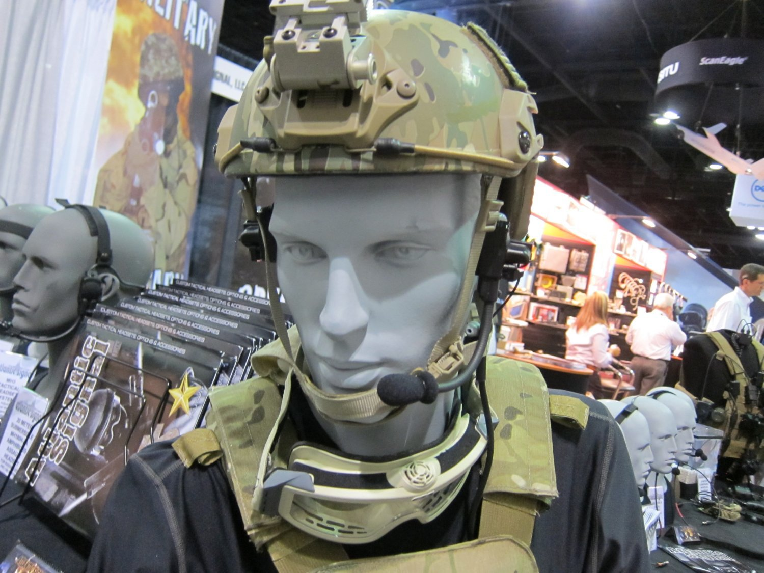 <!--:en-->Atlantic Signal Dominator Waterproof Bone-Conduction/Hearing Pro Tactical Headset Good to Go! U.S. Military Special Operations Tactical Comms Headset Goes Prime-Time at SOFIC 2011 (Photos and Video!) <!--:-->