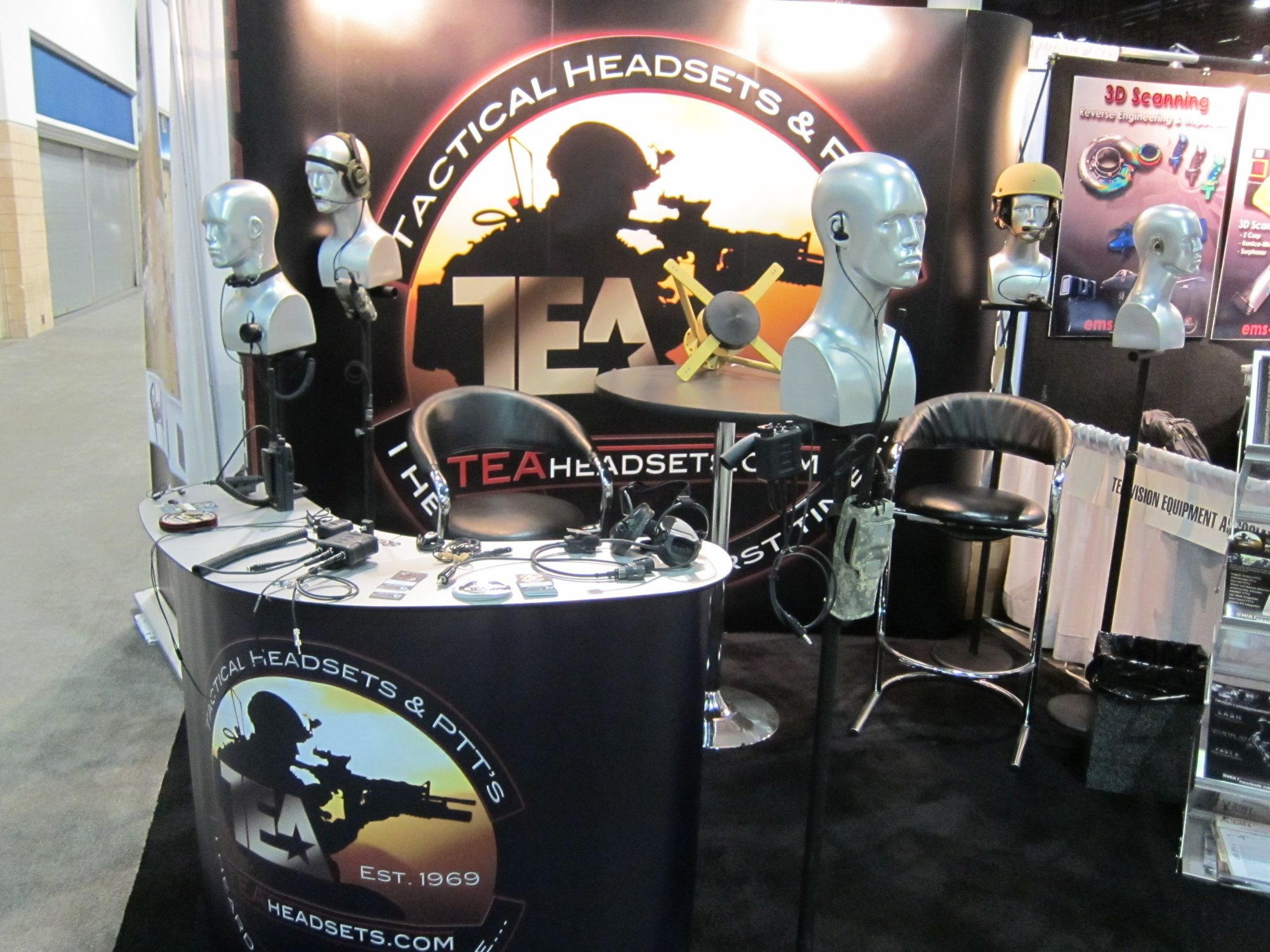 TEA Invisio Digital Ears X50 System Tactical Comms Headset with X50 Mulit Com PTT Push To Talk Button SOFIC 2011 6 <!  :en  >TEA INVISIO Digital Ears X50 System Digital In Ear Bone Conduction Tactical Comms (Tactical Communications) Headset with X50 Multi Com PTT (Push To Talk) Button Module for Military Special Operations Forces (SOF) and LE SWAT Operators<!  :  >