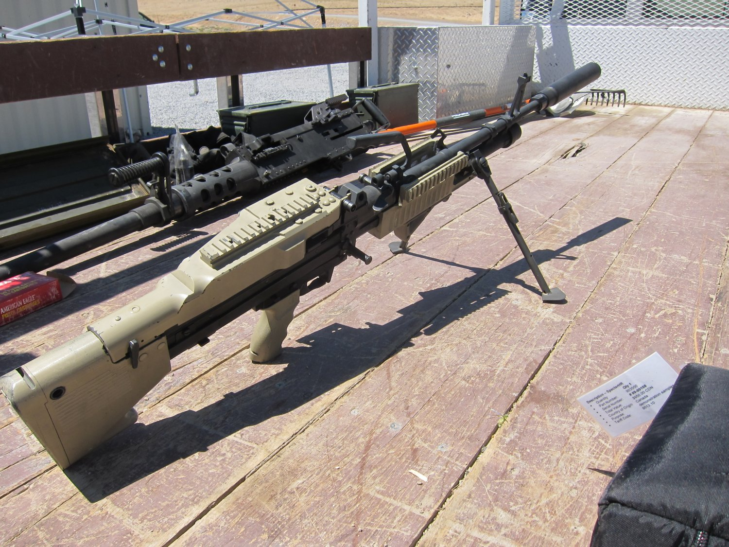 U.S. Ordnance Mk43 Mod 1 M60E4 Medium Machine Gun 7.62mm MMG Future Version 6 <!  :en  >U.S. Ordnance Mk43 Mod 1/M60E4 Commando 7.62mm NATO Medium Machine Gun (MMG) for Special Operations Forces (U.S. Navy SEALs): Latest Version Weapon Gets Test Fired at the Range (Video!) <!  :  >