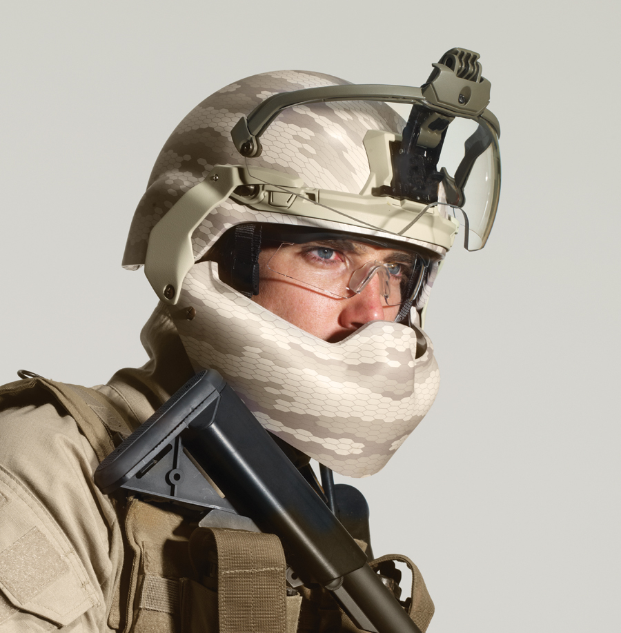 "<!--:en-->Revision Military BATLSKIN (""Battle Skin"") Modular Head Protection System (MHPS) Lightweight Ballistic Combat Helmet, Visor and Mandibular Guard/Ballistic Face Shield: Complete Ballistic Maxillofacial Protection (Facial Armor) for the 21st Century Warfighter <!--:-->"