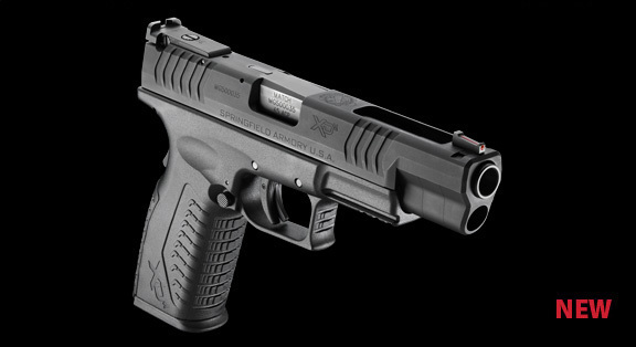Springfield Armory XDm 45ACP 9mm 5.25 Competition Pistol 2 <!  :en  >Springfield Armory XDm 45ACP and XD(M) 9mm 5.25 Barreled Competition Series Long Slide Tactical Pistols: Developed by Rob Leatham for Rob Leatham  <!  :  >