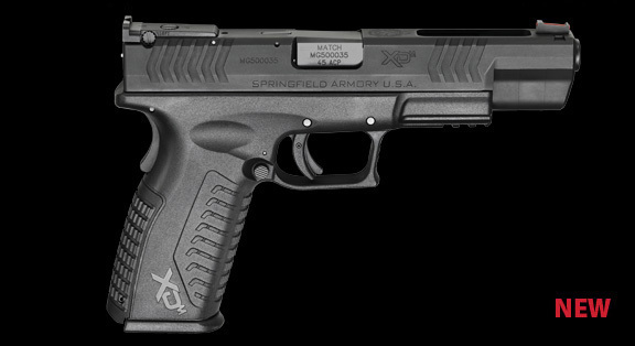 Springfield Armory XDm 45ACP 9mm 5.25 Competition Pistol 4 <!  :en  >Springfield Armory XDm 45ACP and XD(M) 9mm 5.25 Barreled Competition Series Long Slide Tactical Pistols: Developed by Rob Leatham for Rob Leatham  <!  :  >