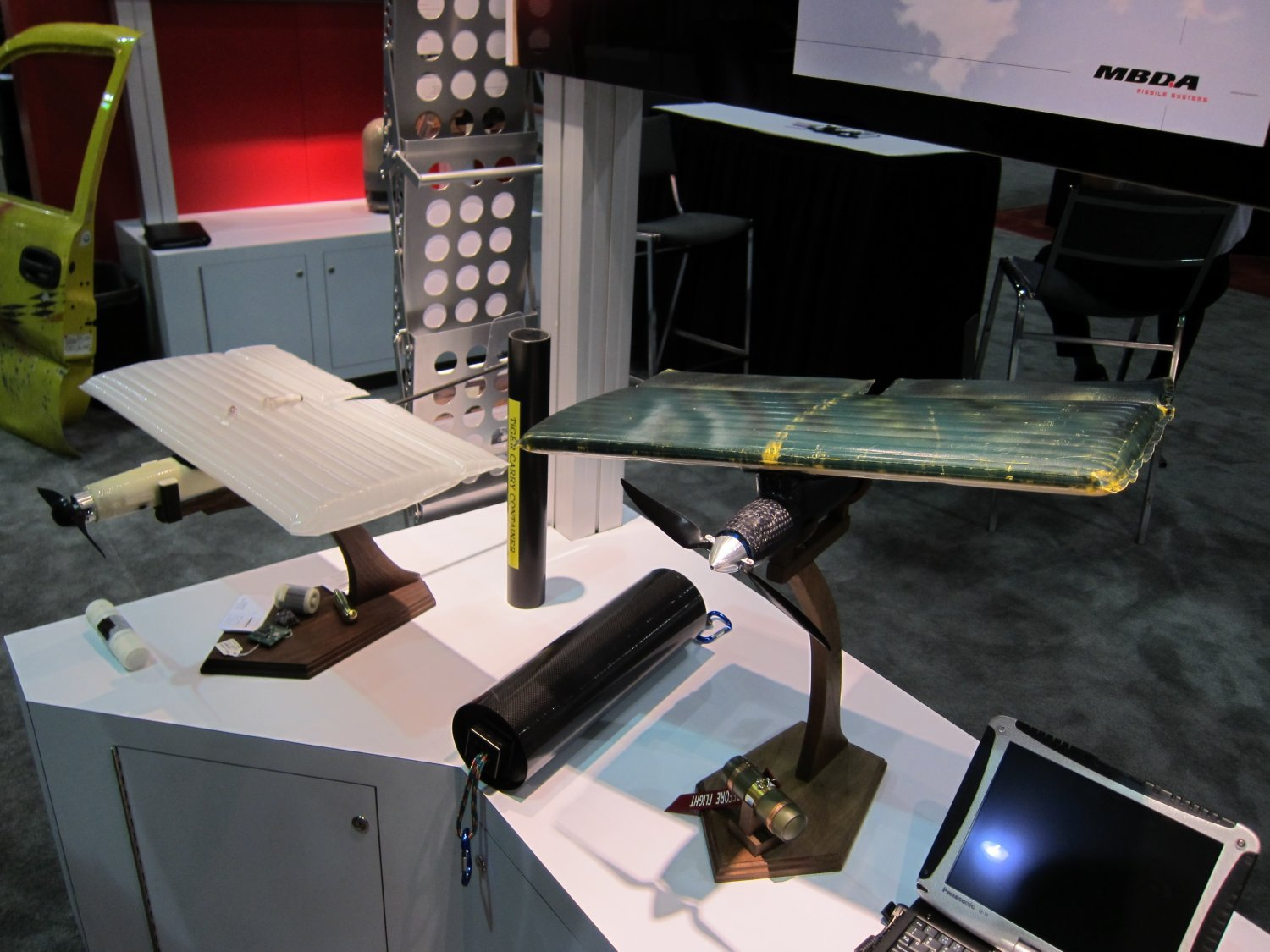 MBDA TIGER SUAV Guided Bomb SOFIC 2010 5 MBDA TiGER (Tactical Grenade Extended Range) Small UAS/UAV (SUAS/SUAV)/Mini Flying Bomb/Kamikaze Drone for Tactical Reconnaissance and Precision Kill Missions is Low Observable, Seriously Lethal: Kittys got a temper!
