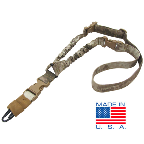 Condor Outdoors COBRA One Point Bungee Tactical Rifle Sling A TACS Camo Pattern 1 Condor STRYKE (Single Point/Two Point) and COBRA (Single Point) Bungee Tactical Slings for Your Tactical Rifle/Carbine/SBR: Now in A TACS and MultiCam Camo Patterns!