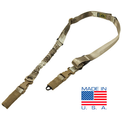 Condor Outdoors STRYKE Tactical Sling A TACS Camo Pattern 1 Condor STRYKE (Single Point/Two Point) and COBRA (Single Point) Bungee Tactical Slings for Your Tactical Rifle/Carbine/SBR: Now in A TACS and MultiCam Camo Patterns!