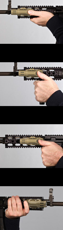 INFORCE WML White Infrared Tactical Multifunction Weapon Mounted Light 6 INFORCE WML White/IR (Visible/Infrared) Multifunction Weapon Mounted Light/Tactical Weapons Light for Tactical Rifle/Carbine/SBRs: Sleek and Sexy, but is it Ready for Prime Time?