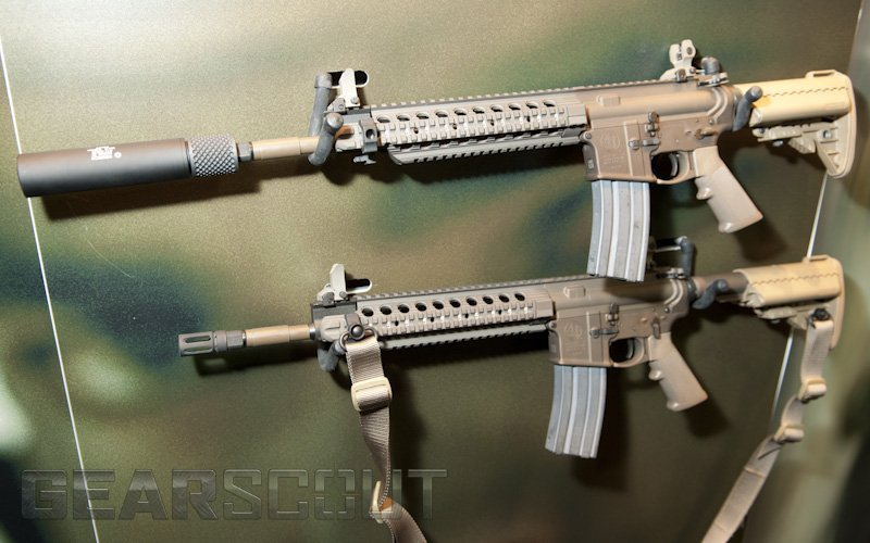 Smith  Wesson SW MP4 Tactical AR Carbine Military Times Gear Scout Rob Curtis 1 Smith & Wesson (S&W) M&P4 Enhanced/Improved M4/M4A1 Carbine Type Tactical AR Carbine Pulled from U.S. Army Individual Carbine (IC) Competition (Photos!)