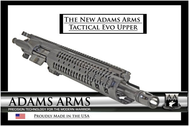Adams Arms AA Mid Length Tactical Evo Piston AR Upper Receiver Exported 3 Adams Arms (AA) Tactical Evo Piston AR (AR 15/M16 Rifle / M4/M4A1 Carbine) Uppers (Upper Receivers) with Samson Evolution Rail System/Tactical Handguards for Martial Combat and Tactical Training (Videos!)