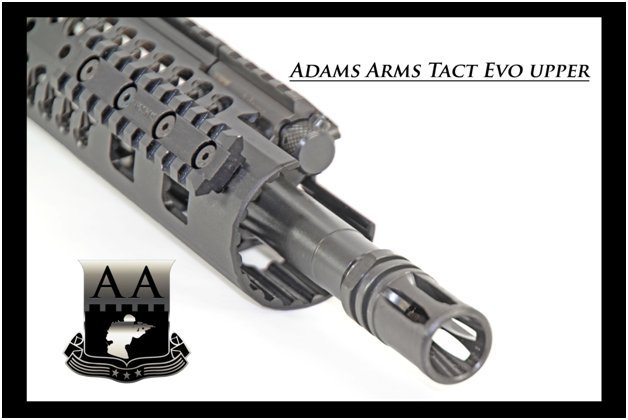 Adams Arms AA Tactical Evo Piston AR Upper Receiver Muzzle Exported Adams Arms (AA) Tactical Evo Piston AR (AR 15/M16 Rifle / M4/M4A1 Carbine) Uppers (Upper Receivers) with Samson Evolution Rail System/Tactical Handguards for Martial Combat and Tactical Training (Videos!)