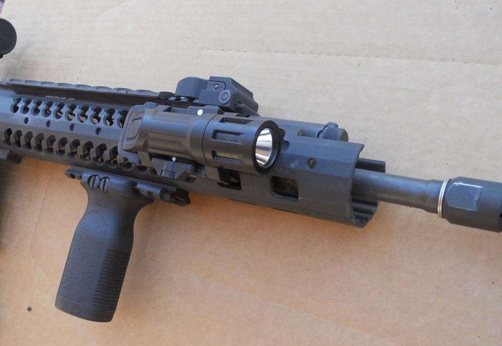 Dr Range Report Inforce Wml Weapon Mounted Light