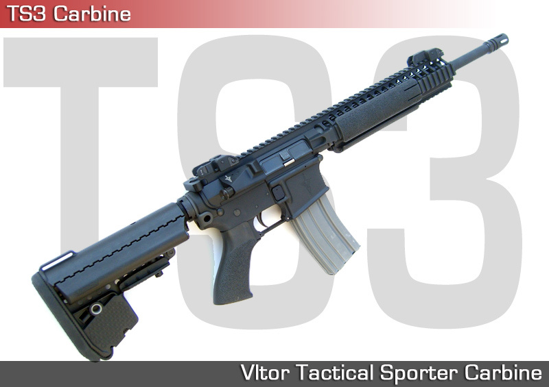 Vltor TS3 Vltor Tactical Sporter Carbine Tactical AR Carbine 1 Vltor TS3 Carbine (Vltor Tactical Sporter Carbine) with Vltor EMod A5 Combo Kit Stock: Mid Length DGI Tactical AR (AR 15) Carbine with Some Serious Features!