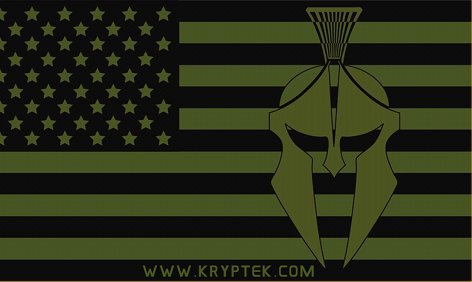 Kryptek LEAF Combat Camo Camouflage American Flag OD Green Logo Kryptek LEAF/Camo Technologies 3 Dimensional (3 D)/Multi Directional Biomimetic Military Combat Camouflage (Camo) Patterns at SHOT Show 2012: Is the Armys Future Soldier Going Reptilian? (Video!)