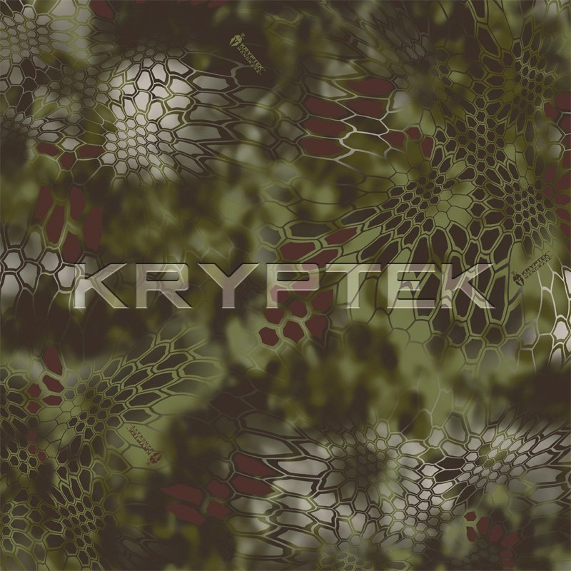 Kryptek LEAF Combat Camo Camouflage Mandrake Swatch Kryptek LEAF/Camo Technologies 3 Dimensional (3 D)/Multi Directional Biomimetic Military Combat Camouflage (Camo) Patterns at SHOT Show 2012: Is the Armys Future Soldier Going Reptilian? (Video!)