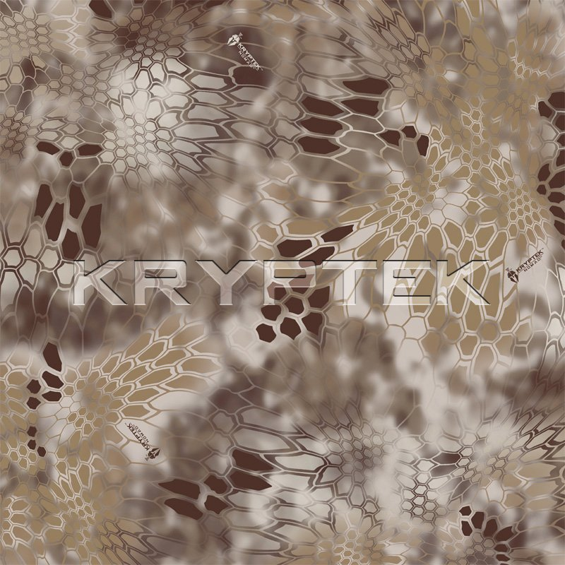 Kryptek LEAF Combat Camo Camouflage Nomad Swatch Kryptek LEAF/Camo Technologies 3 Dimensional (3 D)/Multi Directional Biomimetic Military Combat Camouflage (Camo) Patterns at SHOT Show 2012: Is the Armys Future Soldier Going Reptilian? (Video!)