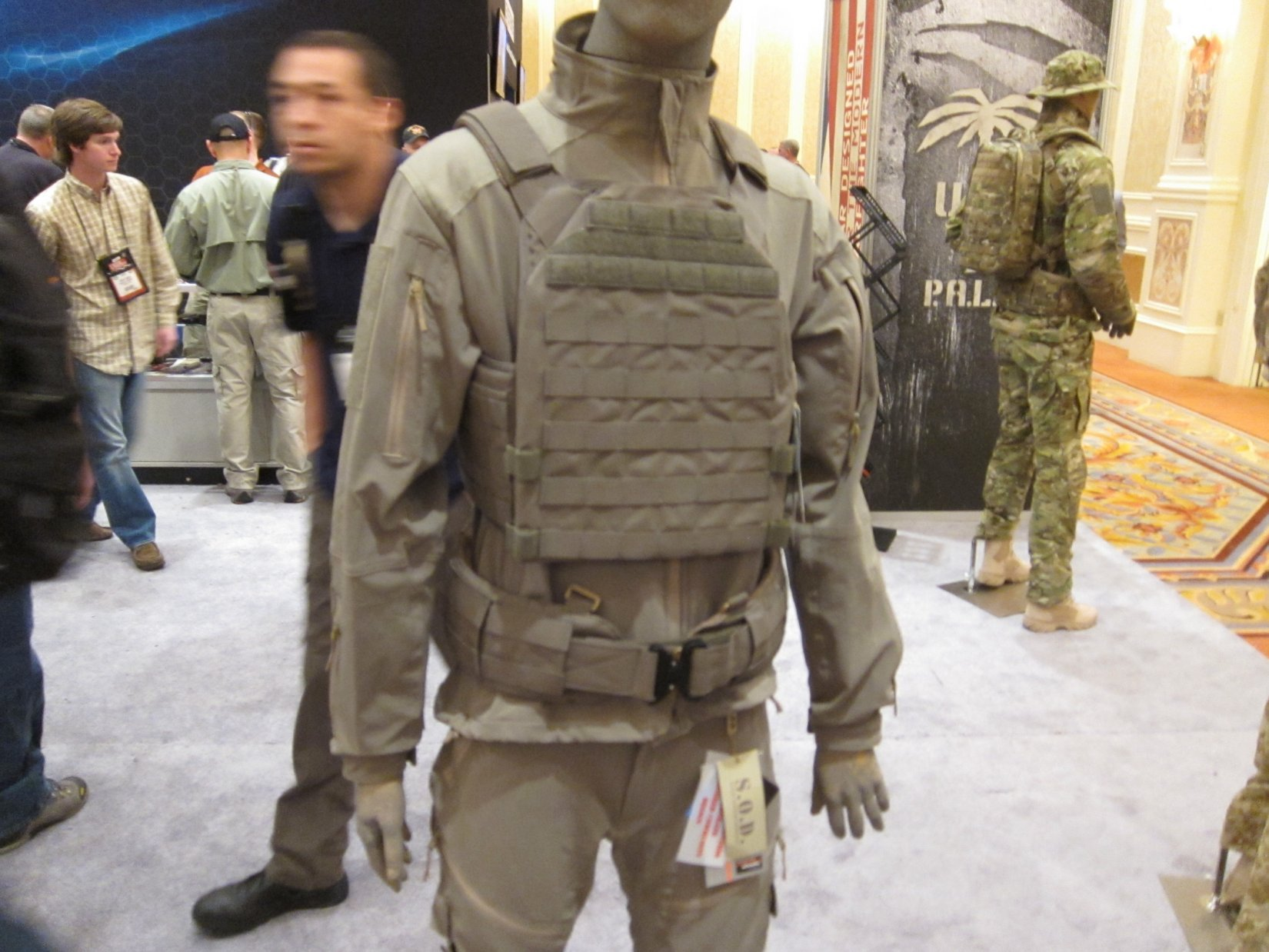 SOD Gear Special Operations Department Gear Max Valente Italian Tactical Combat Clothing TangoDown SHOT Show 2012 1 17 2012 DefenseReview.com DR 2 SOD Gear/SOD USA Stealth ADP Battle Jacket and Pants Made with Schoeller Performance Fabric: High Tech Combat Clothing for Military Special Operations Forces (SOF) and Civilian Tactical Shooters
