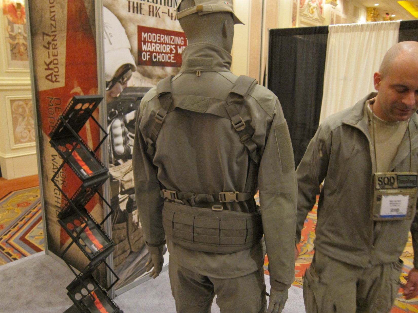SOD Gear Special Operations Department Gear Max Valente Italian Tactical Combat Clothing TangoDown SHOT Show 2012 1 17 2012 DefenseReview.com DR 4 SOD Gear/SOD USA Stealth ADP Battle Jacket and Pants Made with Schoeller Performance Fabric: High Tech Combat Clothing for Military Special Operations Forces (SOF) and Civilian Tactical Shooters