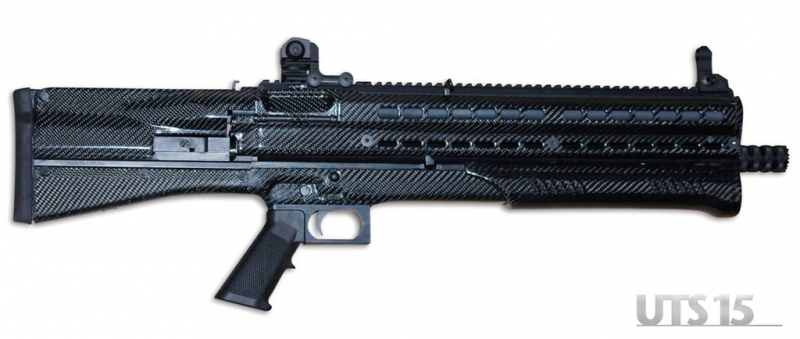 UTAS UTS 15 High Capacity Bullpup Pump Action Shotgun Turkey 2 UTAS UTS 15 Shotgun: High Capacity (14+1) Bullpup Dual Feed Pump Action Tactical/Combat Shotgun (2.75 and 3 Magnum 12 Gauge) is Neostead Shotgun Revisited and Modernized for 21st Century CQB/CQC Gunfighting!