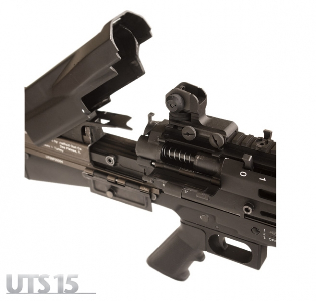 UTAS UTS-15 Shotgun: High-Capacity (14+1) Bullpup Dual-Feed Pump-Action Tactical/Combat Shotgun (2.75″ and 3″ Magnum 12-Gauge) is Neostead Shotgun Revisited and Modernized for 21st-Century CQB/CQC Gunfighting!