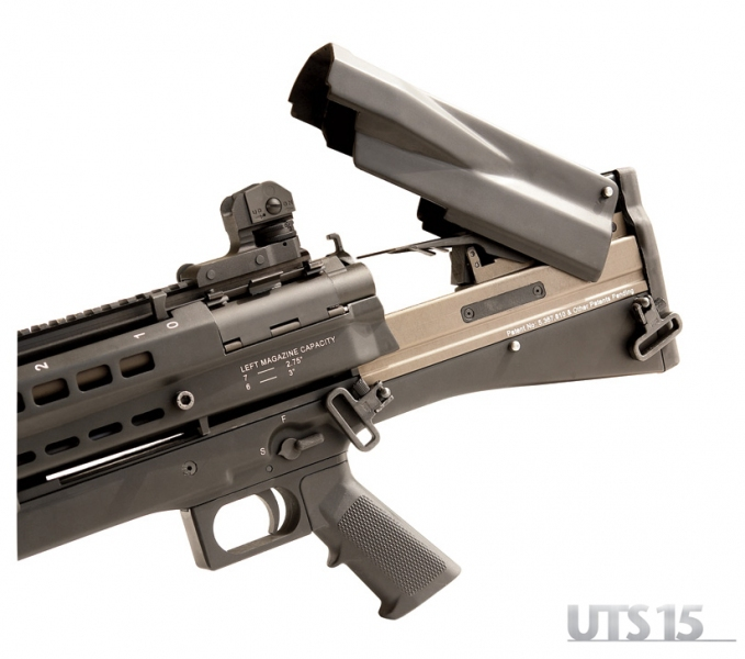 UTAS UTS 15 High Capacity Bullpup Pump Action Shotgun Turkey 6 UTAS UTS 15 Shotgun: High Capacity (14+1) Bullpup Dual Feed Pump Action Tactical/Combat Shotgun (2.75 and 3 Magnum 12 Gauge) is Neostead Shotgun Revisited and Modernized for 21st Century CQB/CQC Gunfighting!