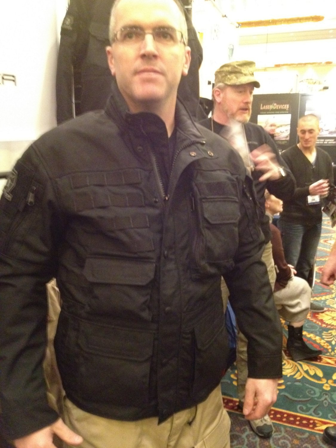 Kitanica Mark V MK5 Tactical Jacket Field Jacket SHOT Show 2012 DefenseReview.com DR 1 Kitanica Mark V (MK5) Tactical Jacket with Textured Poron XRD Padding System for Civilian Tactical Shooters: The Latest Kitanica Advanced Tactical Apparel/Clothing Product (Video!)