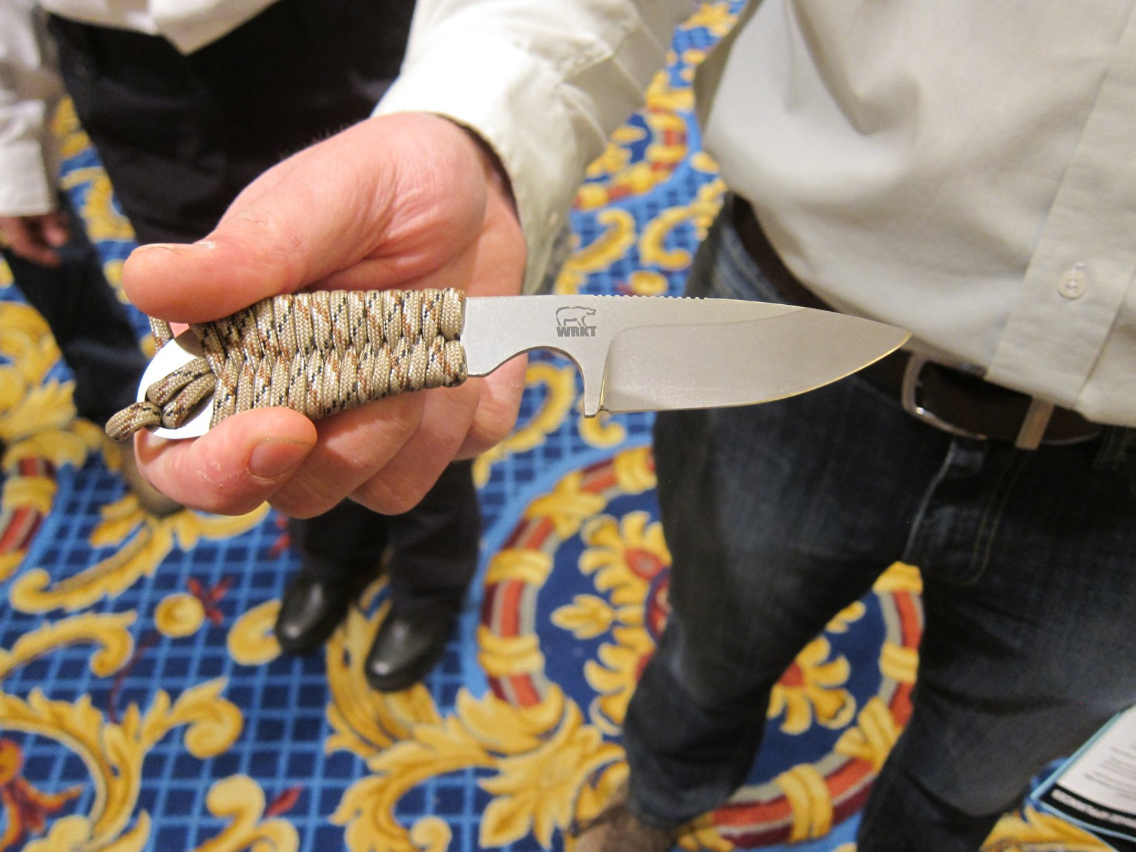 White River Knives (WRK) Backpacker Lightweight Hunting/Tactical Knife/Neck Knife at SHOT Show 2012