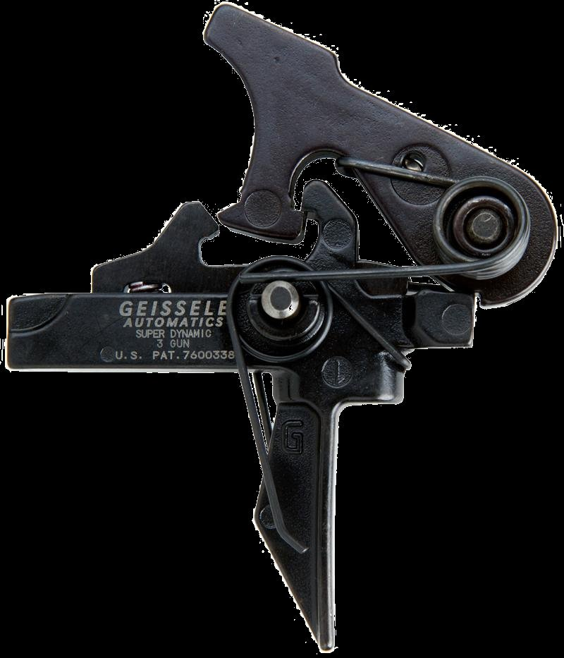 Geissele Automatics Super Dynamic 3 Gun SD 3G Trigger for Tactical AR Carbines SBRs 1 Geissele Automatics Super Dynamic Triggers with Flat Trigger Bow for Combat and Competition Applications: Meet the Geissele Super Dynamic Combat (SD C) Trigger, Super Dynamic Enhanced (SD E) Trigger and Super Dynamic 3 Gun (SD 3G) Trigger for Tactical AR 15 Carbines/Rifles and SBRs/Sub Carbines